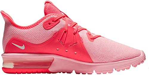 NIKE Womens Air Max Sequent 3 Hot Punch/Summit White/Arctic Punch ...