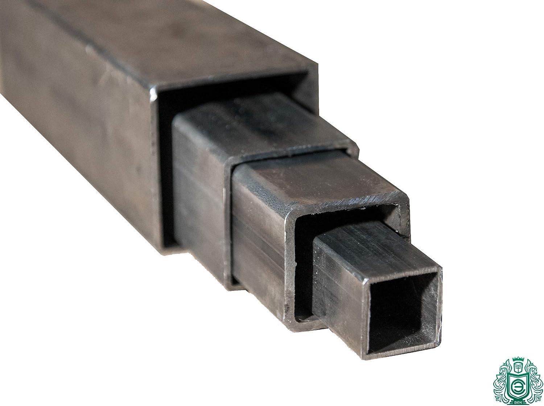 Diam/ètre : 12 x 12 x 1,5 /à 45 x 45 x 3 Tube carr/é en acier St33 Tube creux