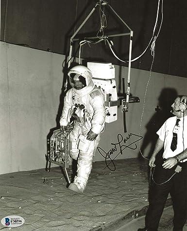 James Jim Lovell REAL hand SIGNED Photo #1 BAS COA NASA