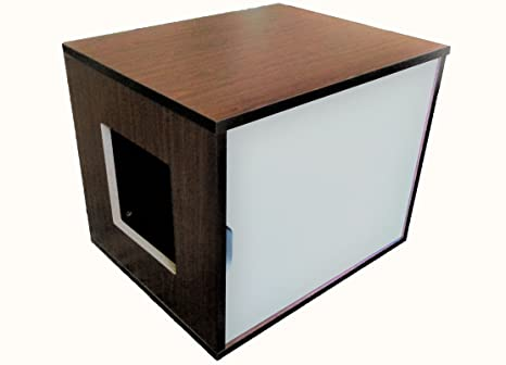 Small Cat Litter Box Cabinet & Amazon.com: Small Cat Litter Box Cabinet: Pet Supplies
