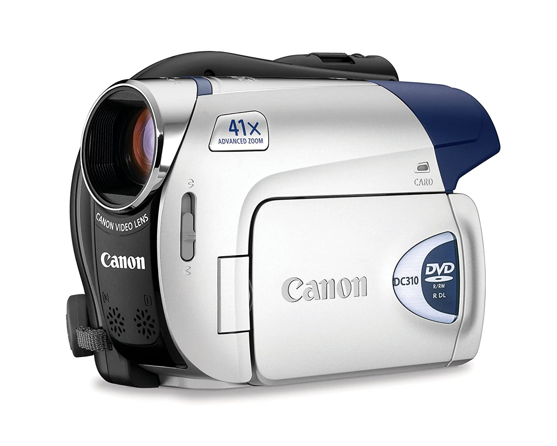 amazon com canon dc310 dvd camcorder with 37x optical zoom rh amazon com Canon DC330 Canon FS100