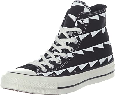 fe5e347bbe7b80 Converse Unisex Chuck Taylor All Star 70 Hi Top Fashion Sneaker Shoe -  Black White
