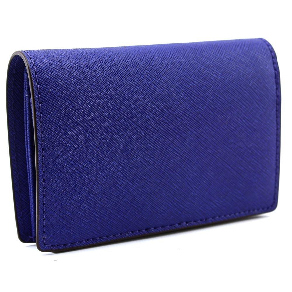 b4295e740289 Amazon.com  Michael Kors Jet Set Travel Medium Slim Sapphire Leather Wallet   Shoes