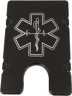 product image for HMC Billet Paramedic RFID Protection Credit Card Holder Aluminum Wallet, Black