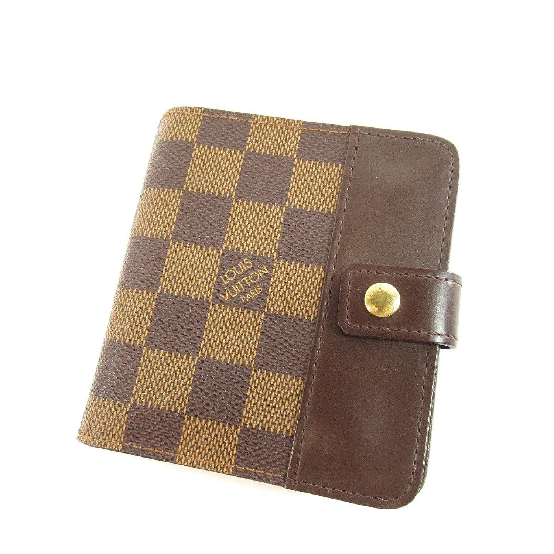 [ルイヴィトン] ダミエ コンパクトジップ 二つ折り財布(小銭入れあり) ダミエキャンバス レディース B07B4QZ1GF