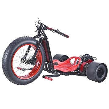 ScooterX Drift Master 2,5 CV 49 cc Drift trike Drifting Big Wheel Go Kart