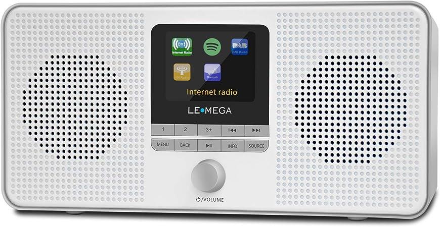 Lemega Ir4s Tragbares Internetradio Stereo Dab Dab Elektronik