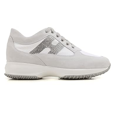 Hogan Interactive Strass Sneakers Bianco Donna 39  Amazon.co.uk ... 7211ea48e2e