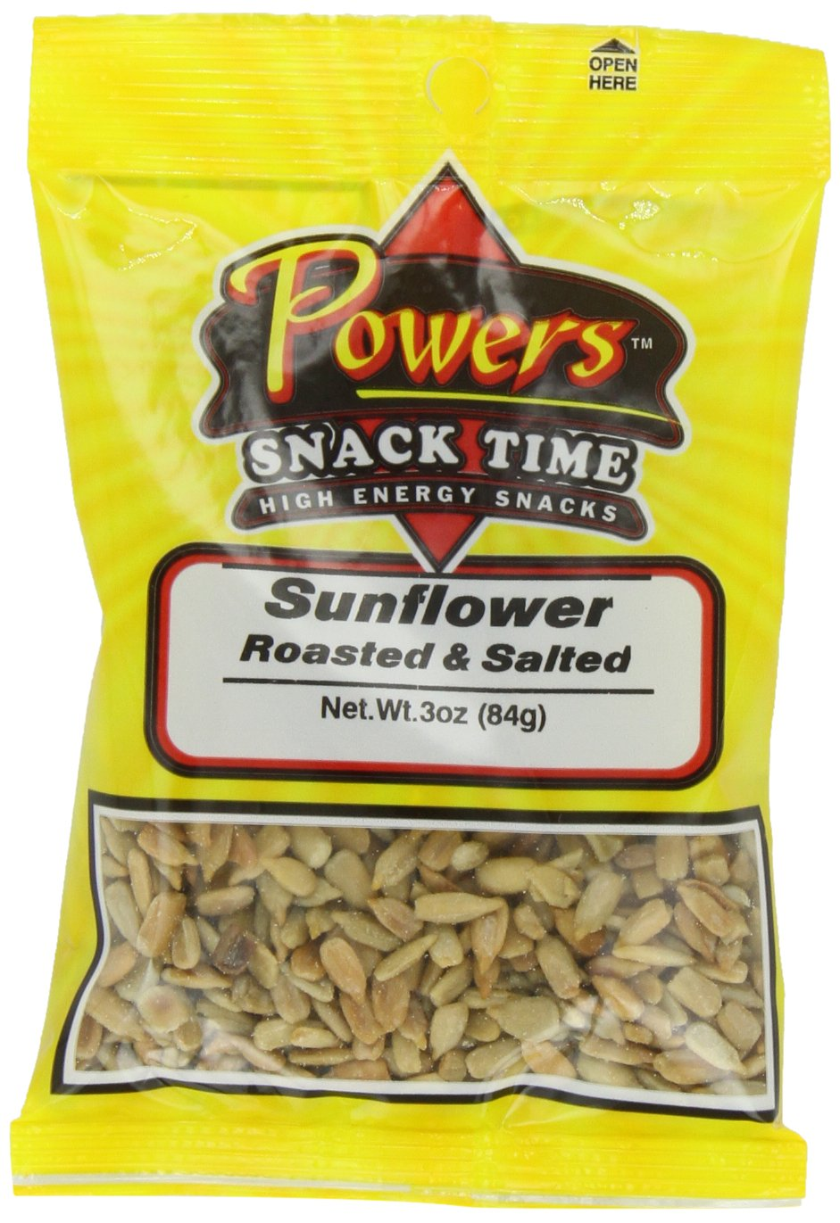 Amazon.com : Powers Sunflower Kernel, 3 Ounce (Pack of 12) : Edible Sunflower Seeds : Grocery & Gourmet Food