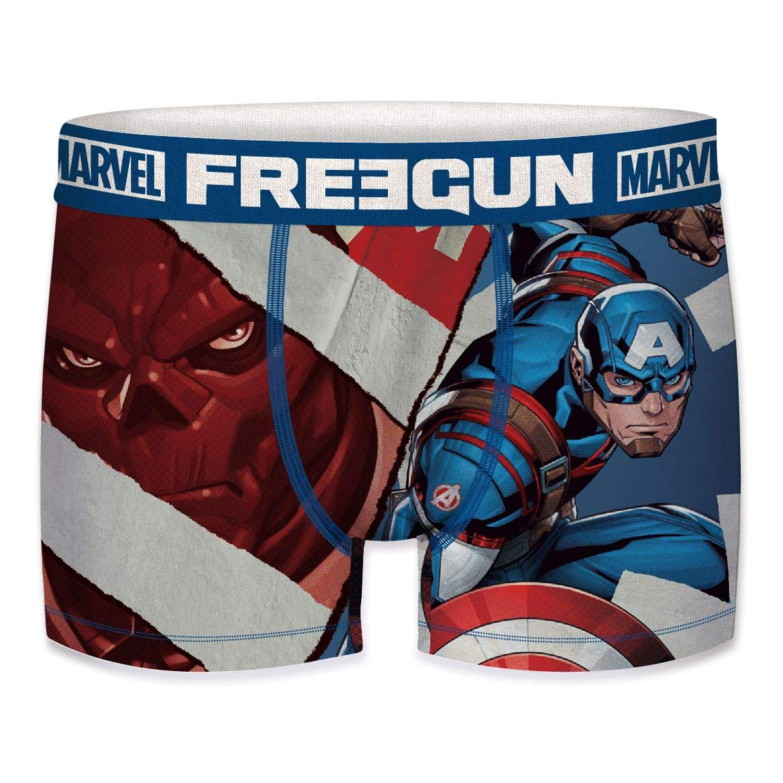 Boxer da Uomo Marvel Avengers Capitan America Captain America 2020 XXL FREEGUN