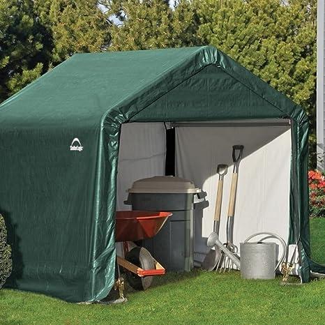 Rowlinson shelterlogic 6 x 6 pico Cobertizo de estilo