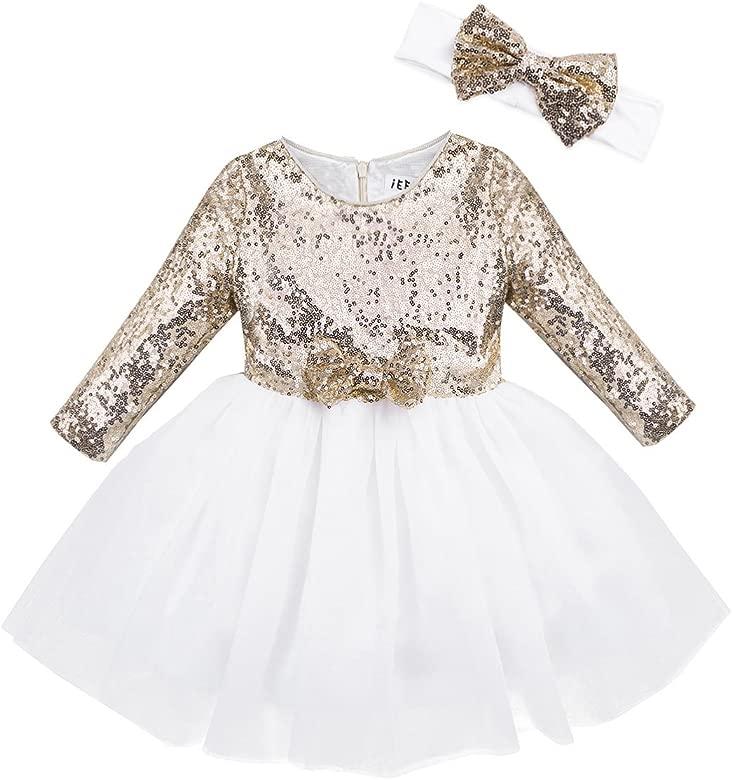 Freebily Vestido Fiesta Princesa para Bebé Niña (12 Meses-8 ...