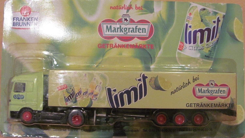 Markgrafen Getränkemarkt Nr.49 - Franken Brunnen Limit - MB Actros ...