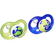 NUK Breeze Orthodontic Pacifier, 6-18 Months, Boy, 2 pk