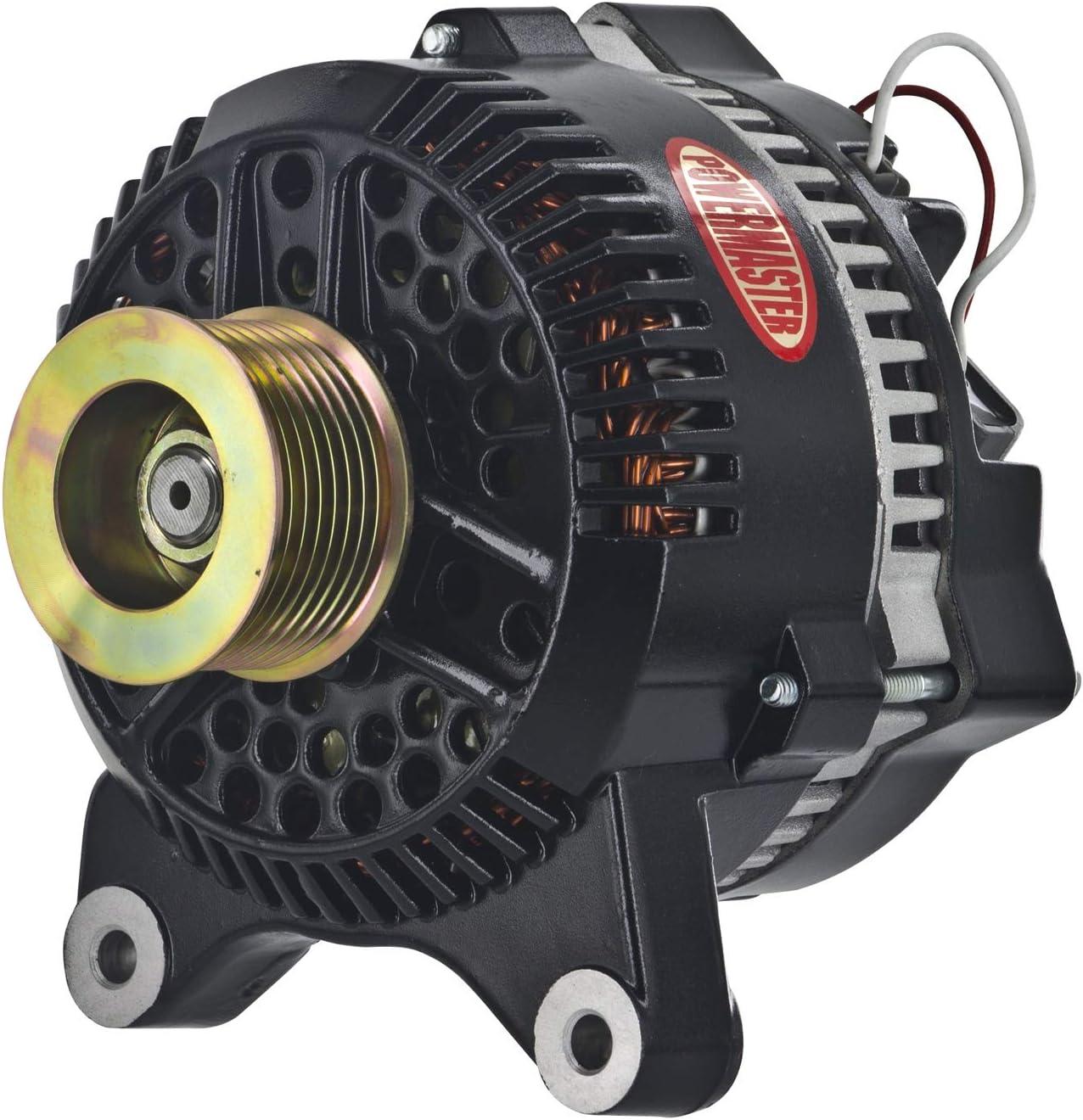 [SCHEMATICS_48YU]  Amazon.com: Powermaster 577631 Alternator (Ford 3G Black 200A 8 grv Pulley  Large Frame V Mtg 1-Wire), 1 Pack: Automotive | Ford Powermaster Alternators Wiring |  | Amazon.com
