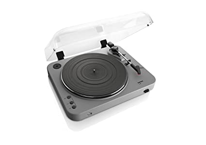Lenco L-85 - Tocadiscos para Equipo de Audio (MP3, USB), Plateado