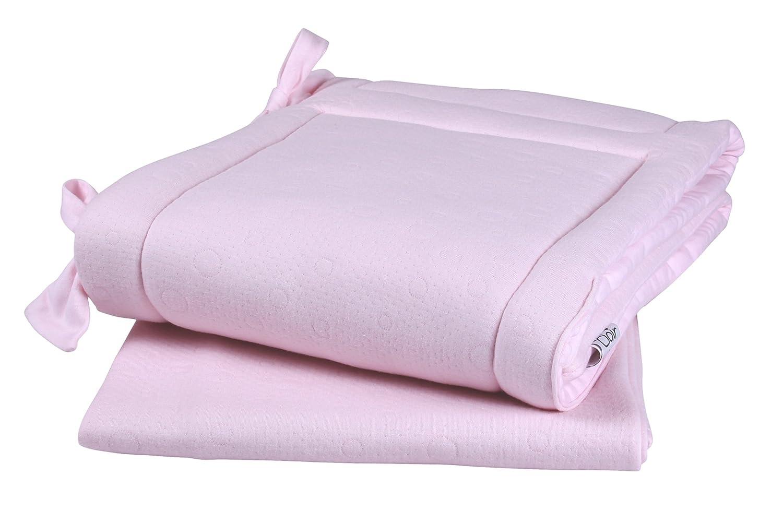 Clair de Lune Cotton Candy Cot/Bed Set (2-Piece, Pink) CL5471P