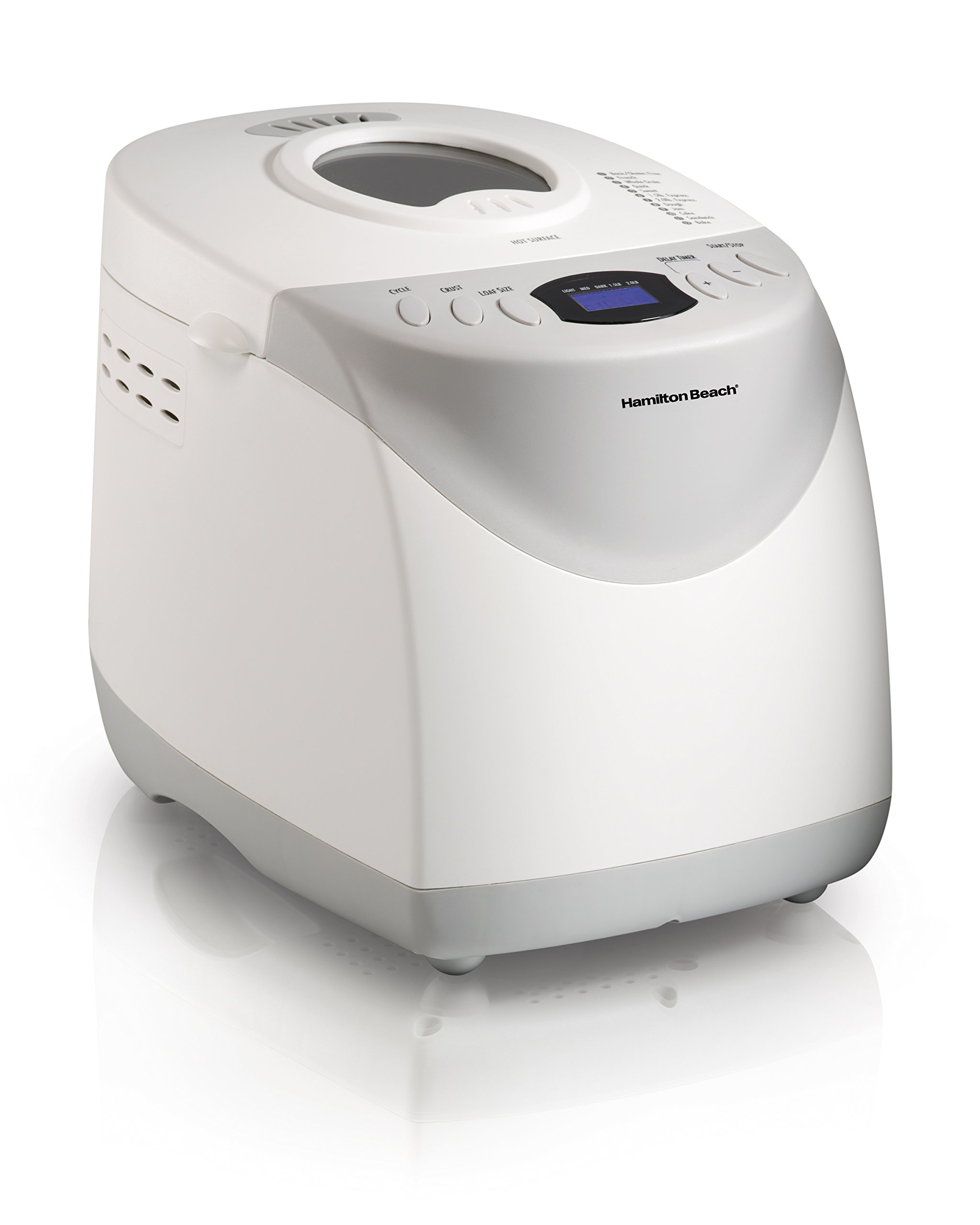 Hamilton Beach 29881 2-Pound Bread Maker, White (Discontinued)