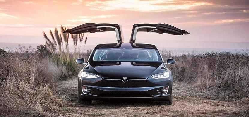 Tesla model X Topfit ラゲッジマット