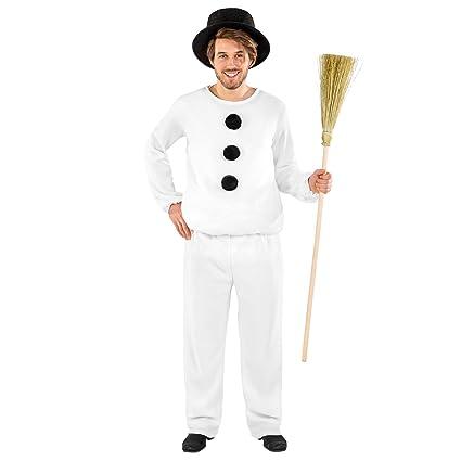 TecTake dressforfun Disfraz para Hombre de muñeco de Nieve | Traje ...