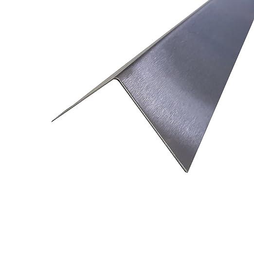 Perfil en ángulo (Acero Inoxidable, K240 lijada 1500 mm de ...