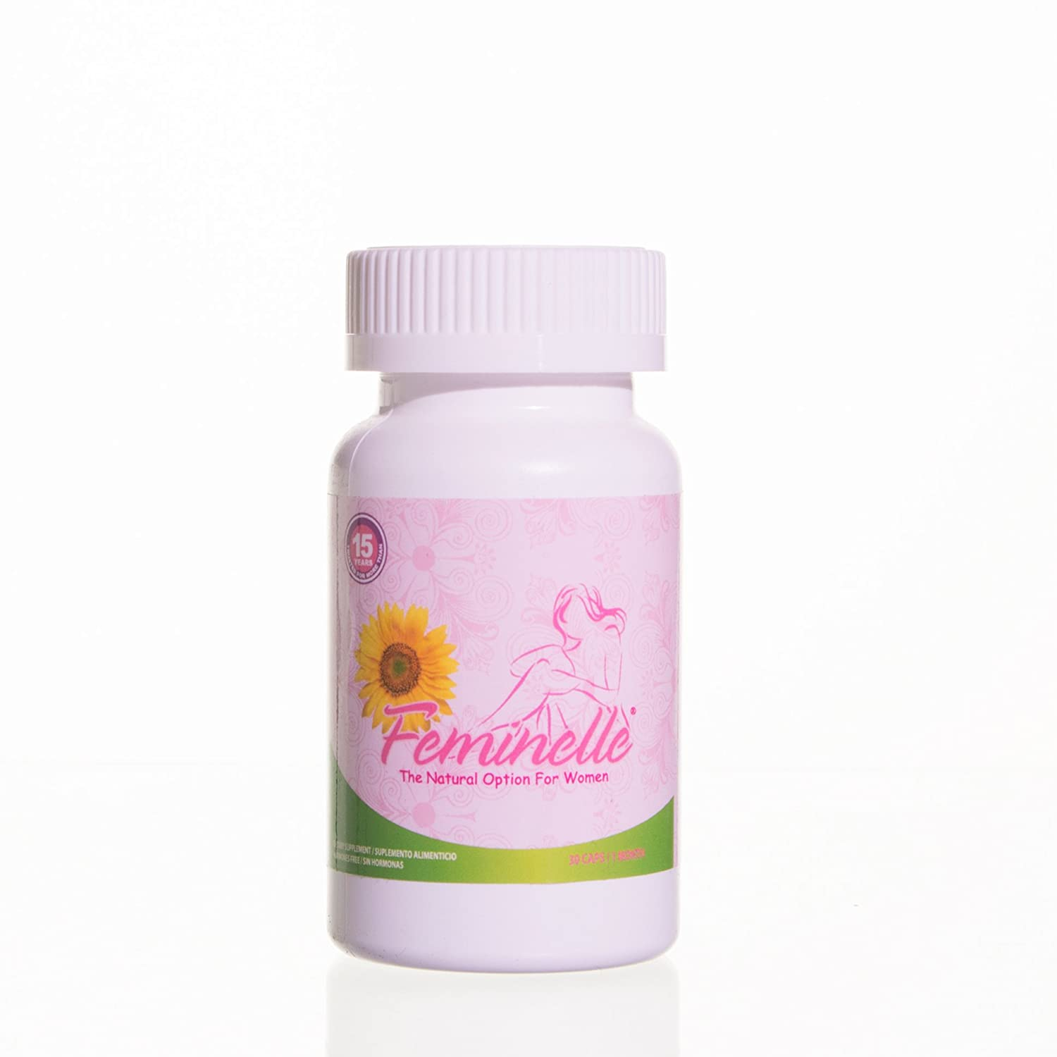 Amazon.com: Feminelle (3 Bottles - New Version) 90 caps: Health & Personal Care