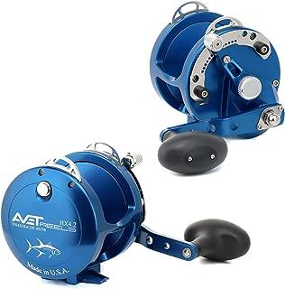 product image for Avet 2-Speed H5.4:1,L2.4:1 Lever Drag Reel, Black