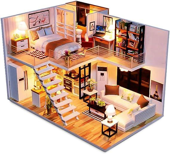 Children Toy Case for Dream House Mini Furniture Sofa Set Accessories YN