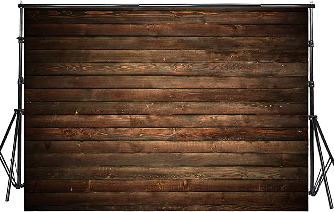 10X6FT-Vintage Imitation Thin Vinyl Wood Photography Backdrop Wall Decoration Background Props for Photo Studio