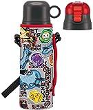 スケーター クール・スポーツボトル 子供用 カバー付き ステンレス水筒 コップ付き ポケモン サンムーン 18 570ml KSKDC6