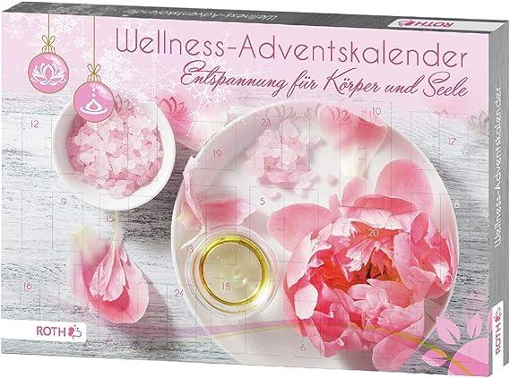 Roth Adventskalender Wellness für Mädchen Frauen mit Cremes Badezusätze Badekuge
