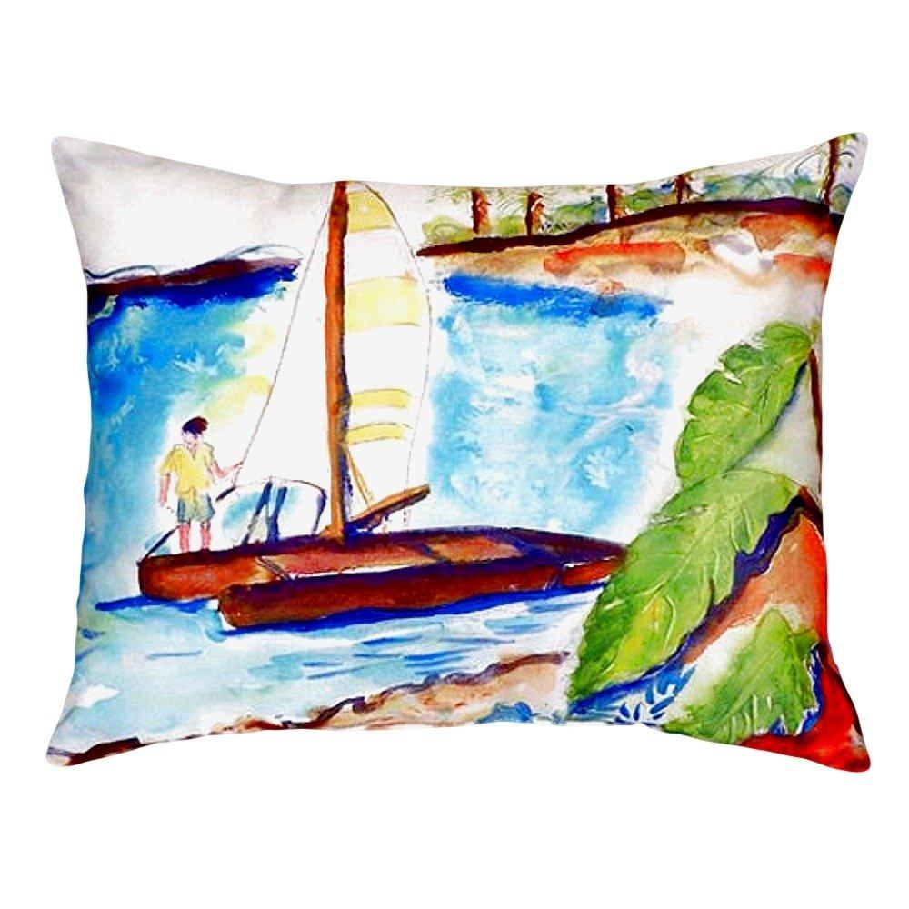 Betsy Drake NC172 Catamaran No Cord Pillow 16' x20'