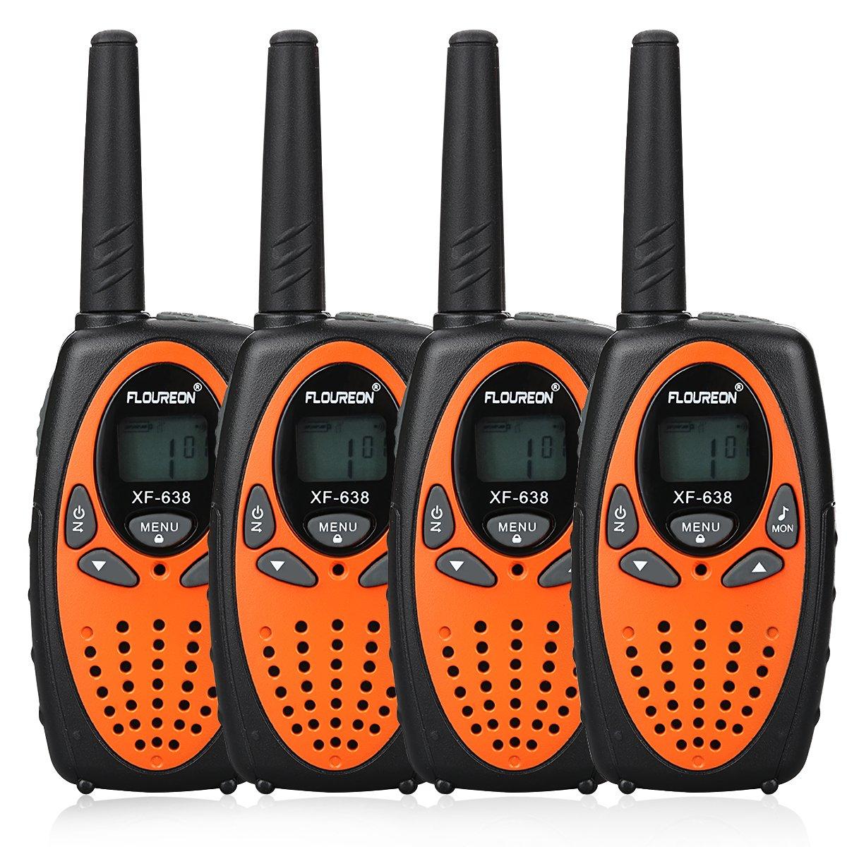 FLOUREON 4X Ricetrasmittente PMR Radio