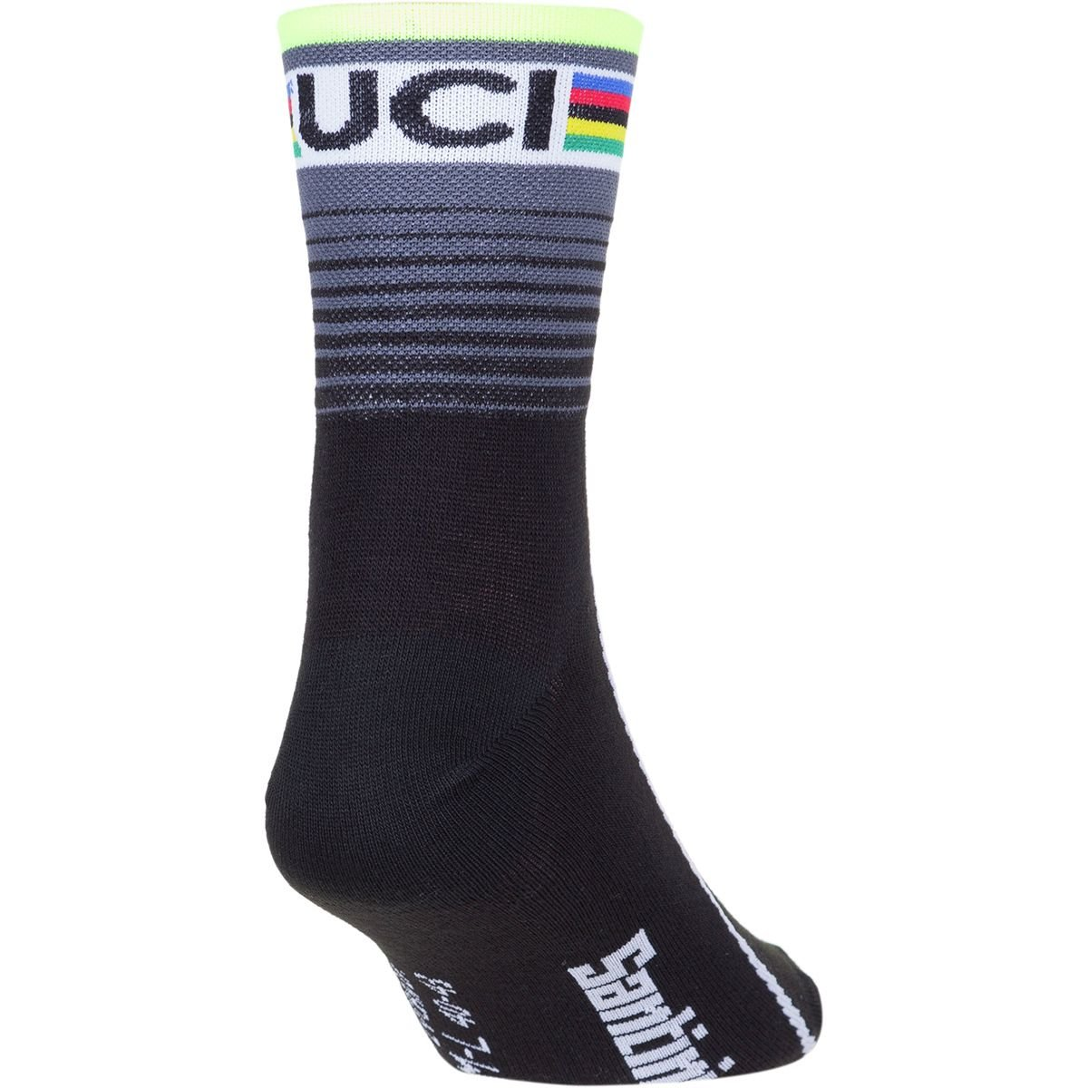 Calcetines Santini UCI Rainbow Line World Champion 2016 2016: Amazon.es: Deportes y aire libre
