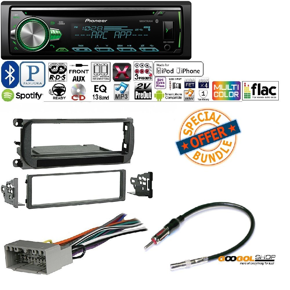 New Pioneer 1din Car Mp3 Cd Stereo W Usb Aux In Bluetooth Jeep Wiring Harness Pandora