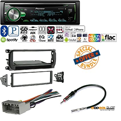 71C6RBoGWIL._SX425_ amazon com pioneer 1din car mp3 cd stereo w usb aux in bluetooth