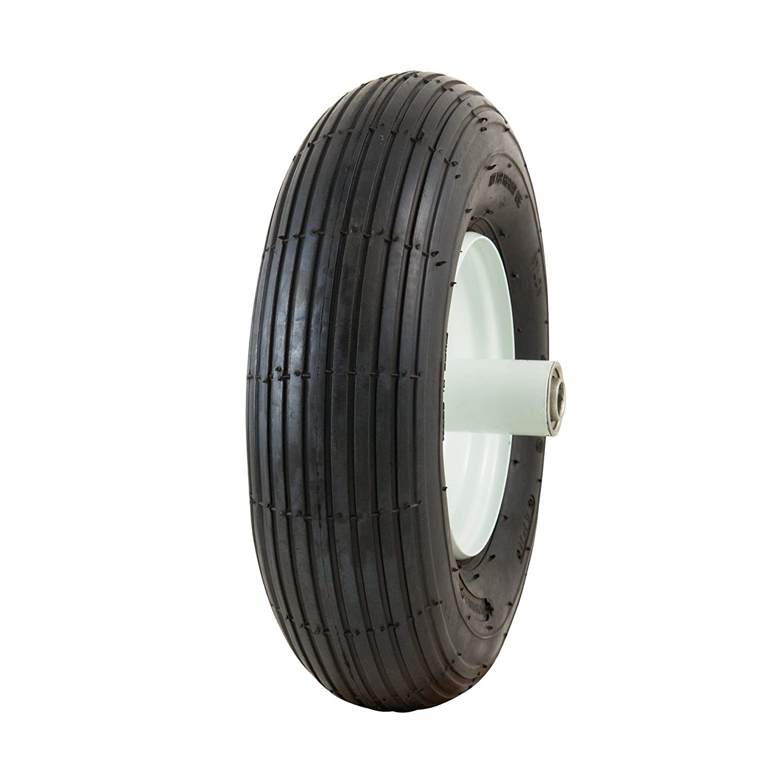 Marathon Industries 20003 4.00-6 Tire on Wheel, 6' Hub 5/8' Ball Bearings 6 Hub 5/8 Ball Bearings