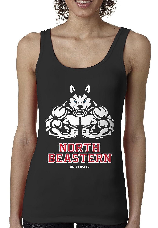 Bro Science Women's North Beastern University Tank-top