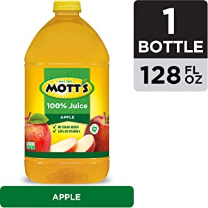 Mott's 100% Juice, Original Apple, 128 oz