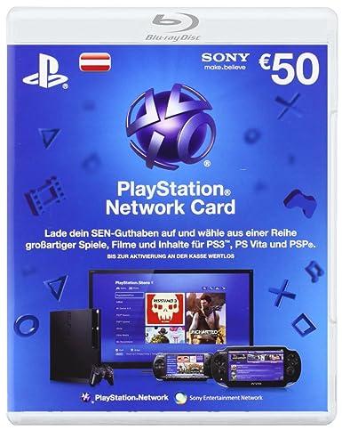 Sony PSN Live Card 50 euros - accesorios de juegos de pc ...