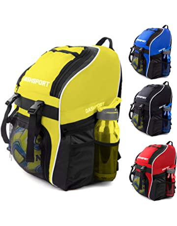 6388ad9914e5 Soccer Backpack - Basketball Backpack - Youth Kids Ages 6 and Up - with  Ball Compartment
