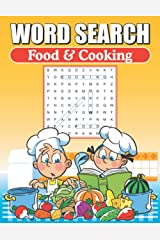 Word Search Food & Cooking: Word Find Book For Adults Paperback