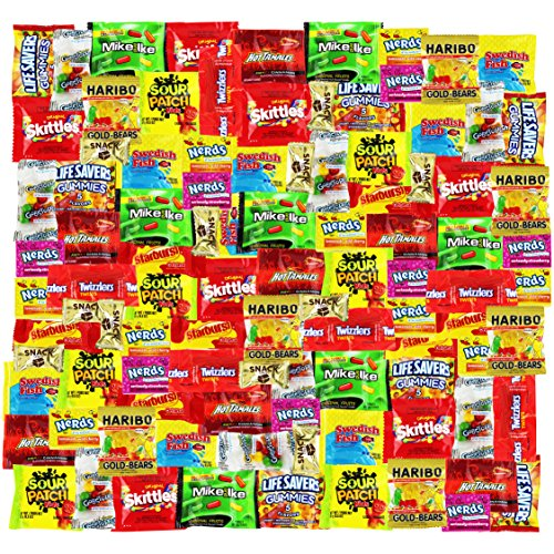 Assorted candy party mix 90 oz bulk twizzlers nerds for Sour swedish fish