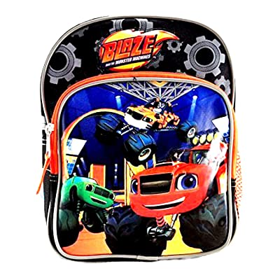 Blaze and the Monster Machines Backpack or Lunch Box Travel Luggage All Purpose Bag (10 Inch) | Kids' Backpacks