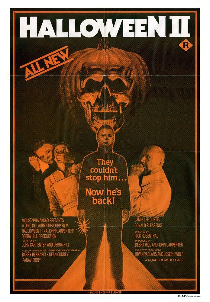amazoncom halloween ii 1981 movie poster 24x36 posters prints - Halloween 2 Wikipedia