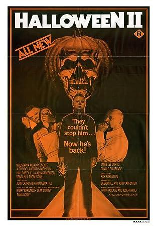 Amazon.com: Halloween II (1981) Movie Poster 24x36: Posters & Prints
