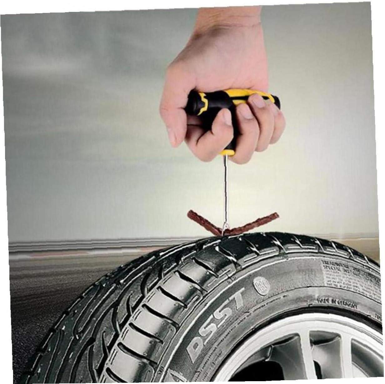 Universal-Reifen-Reparatur-Kit Reifenreparatur Puncture Reparaturs/ätze f/ür Fahrr/äder LKW Jeep Motorrad Traktor Reifen-Reparatur-Kit mit Glug Band im Freien beweglicher