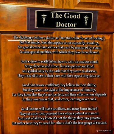 what qualities make a good doctor