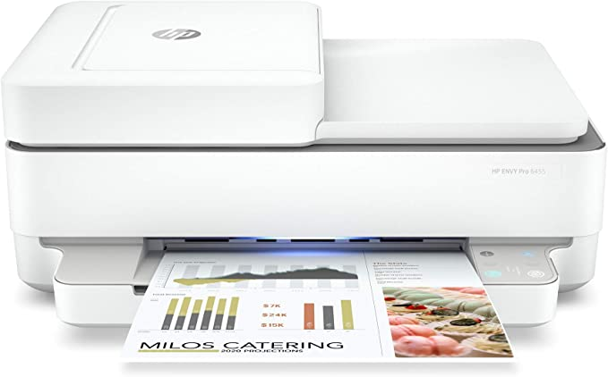 Hp Impresora Multifuncional Inalámbrica Todo En Uno Envy Pro 6455 Electronics