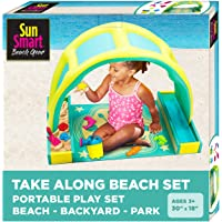 Deals on SunSmart Kiddie Activity Play Set w/Eight 8 Toys